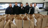 Joliet Fire Department honor guard care for the needy